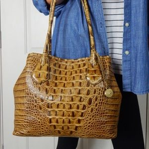 BRAHMIN SMALL ANYTIME TOTE HEMP MELBOURNE